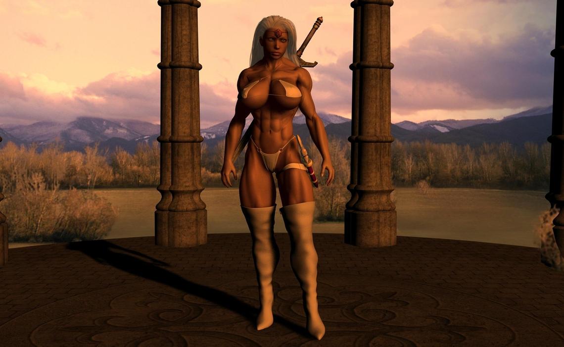 Ariana Warrior Princess by plinius