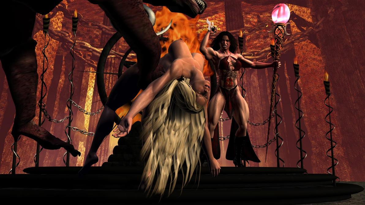 Naked women sacrificed by natives xxx clip