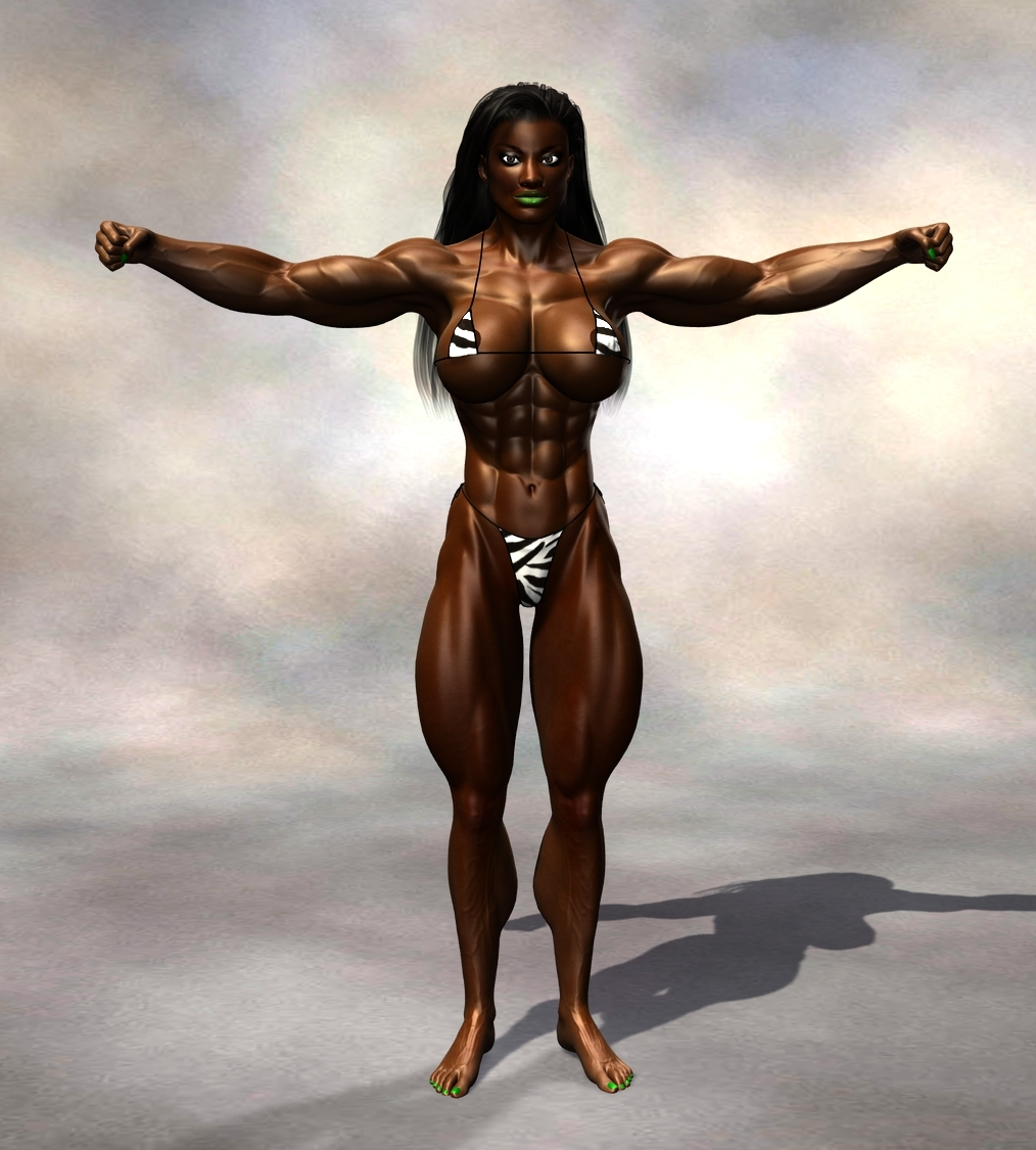 Muscle woman szex picture exposed dirty lady