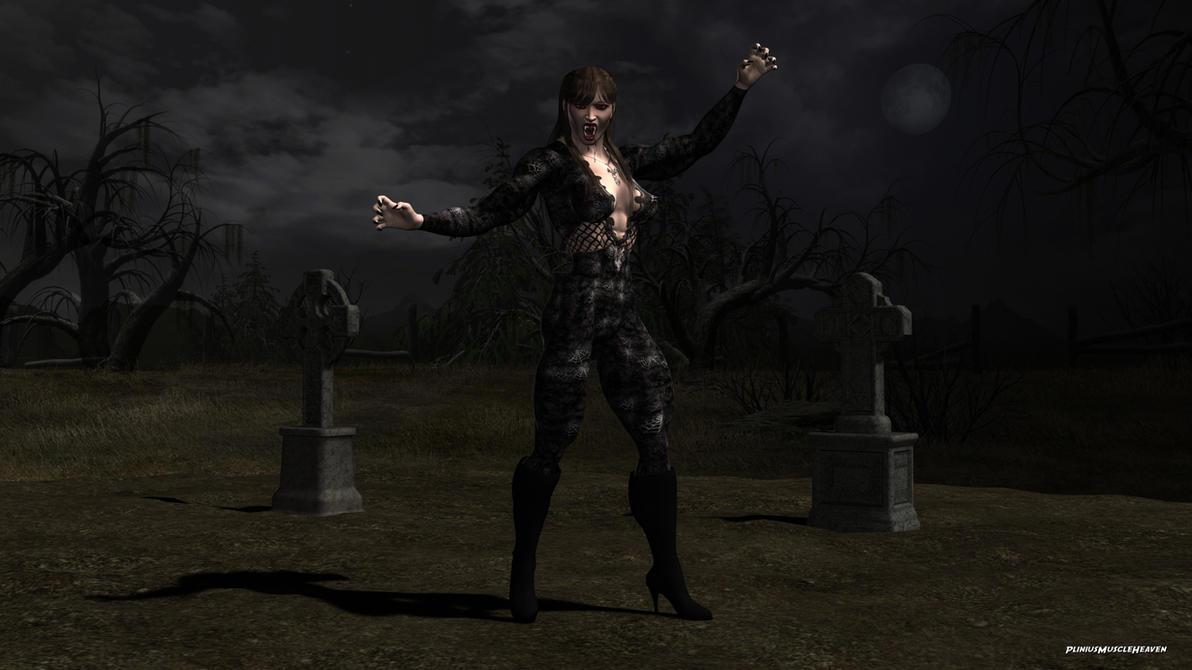 Vampire Girl by plinius