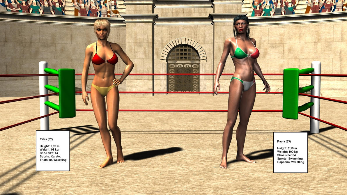 Women's Wrestling by plinius