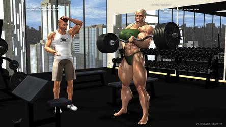 FBB 500 lbs Biceps Curl