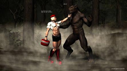 Red Riding Hood vs Big Bad Wolf
