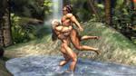 Tarzana - Love Hug by plinius