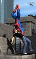 Spidergirl Kiss