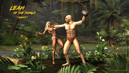 Leah - Jungle Girl Giants