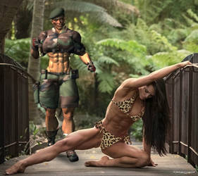 Jungle Girl Beating