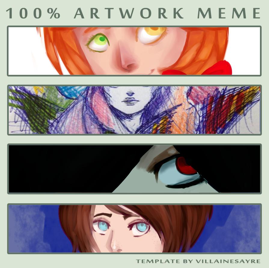 100 artwork meme by matrioshkka