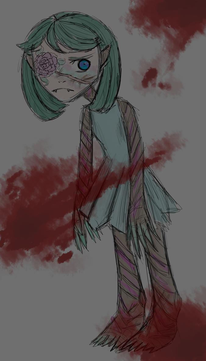 Harmless monster by matrioshkka