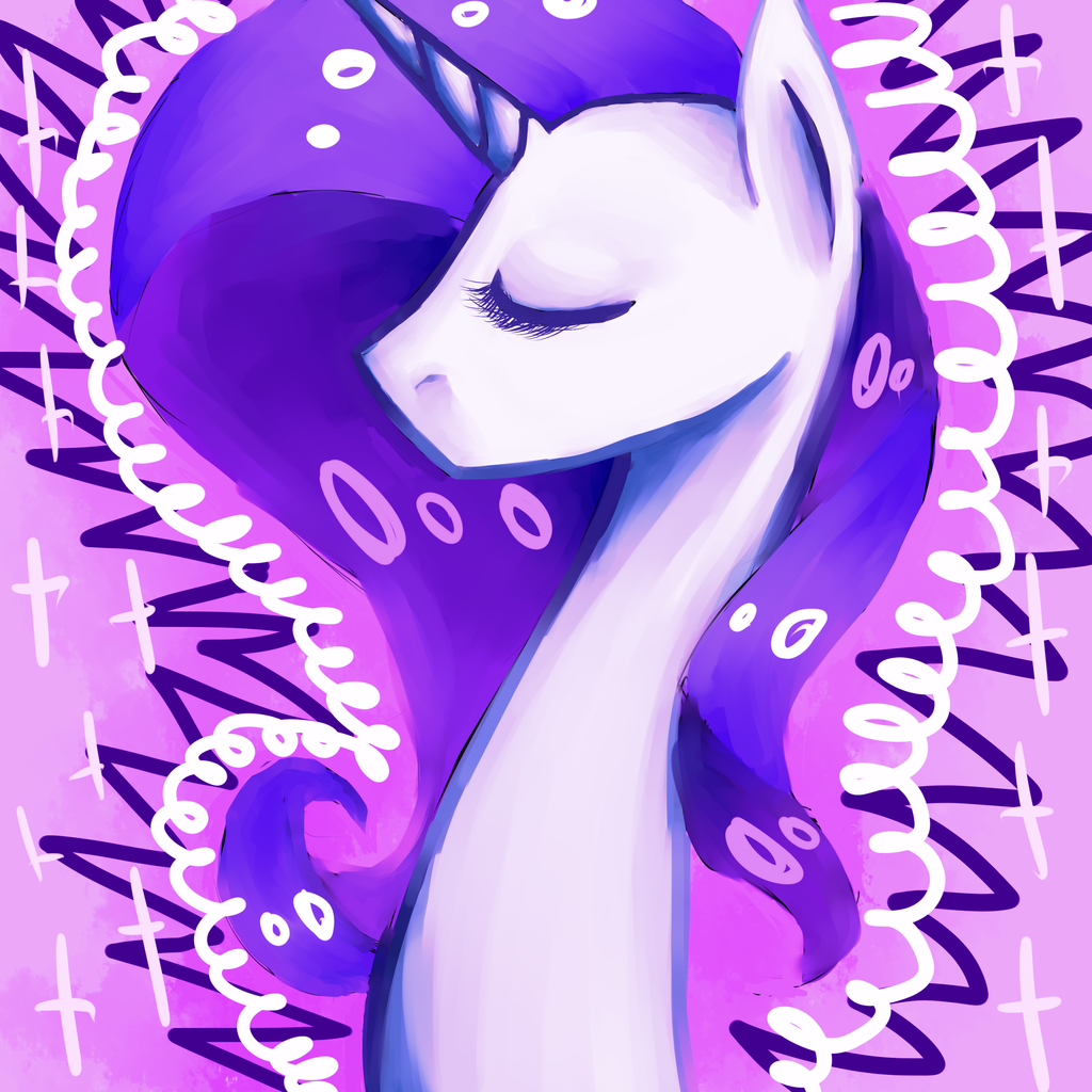 Rarity + SPEEDPAINT by matrioshkka