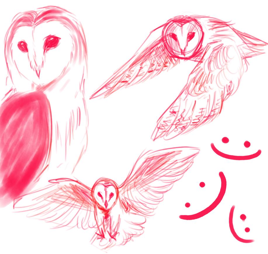 more owls by matrioshkka