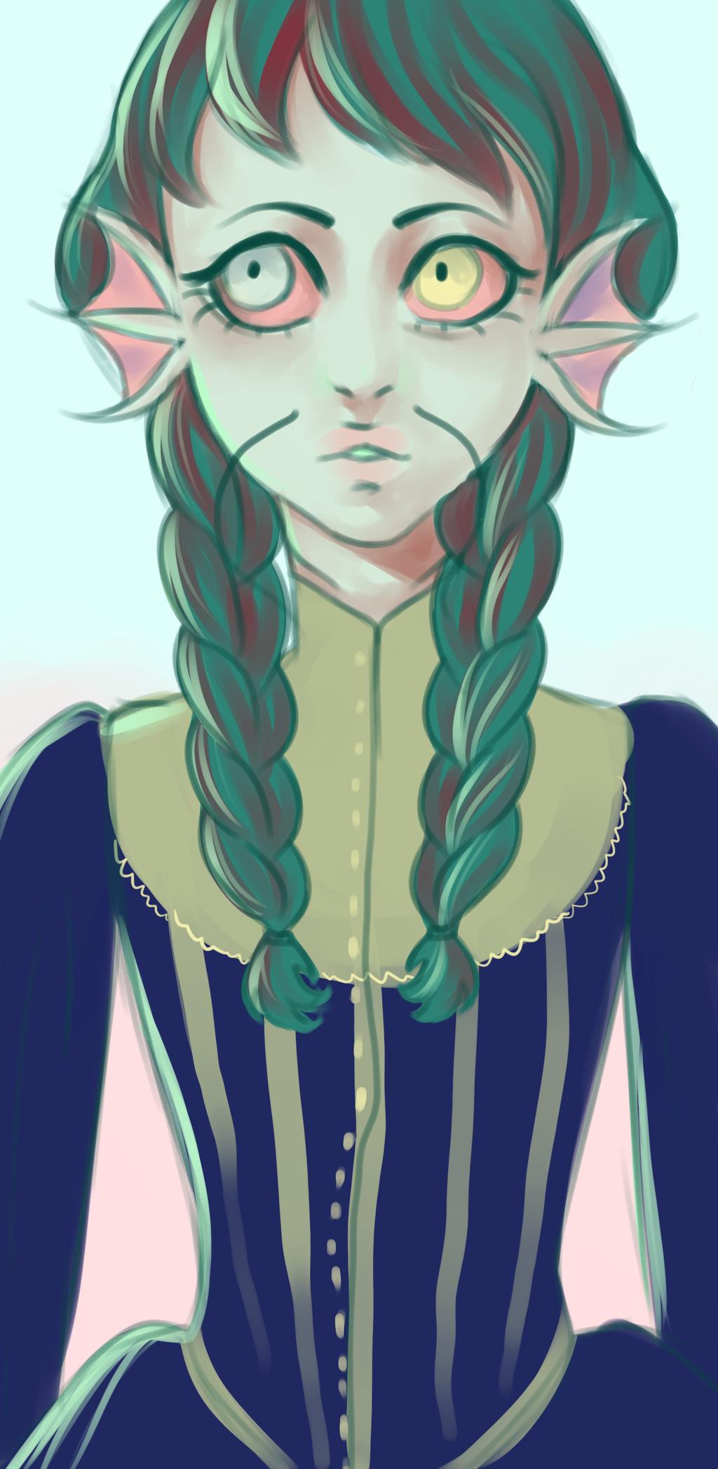 fish princess by matrioshkka