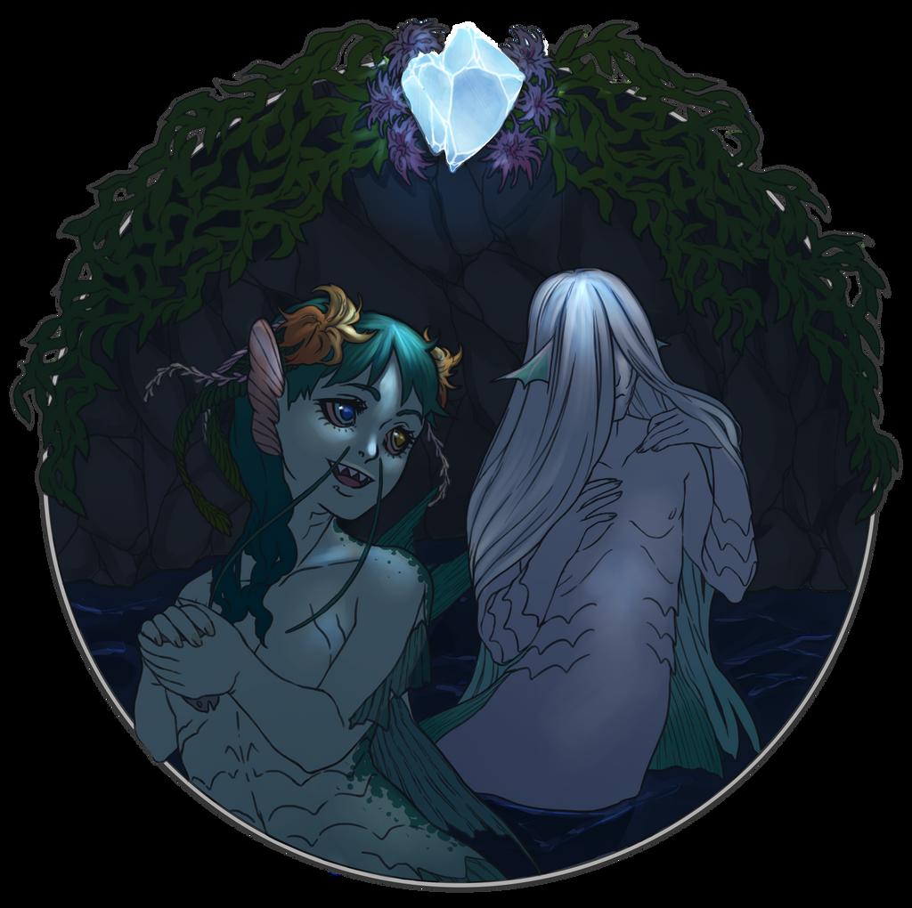 LU: Walentynki - Shariel i Nadia by matrioshkka
