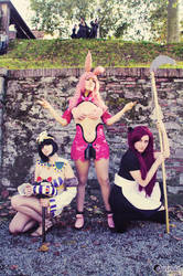 Girls From Hell - Queen's Blade by GloomyElls