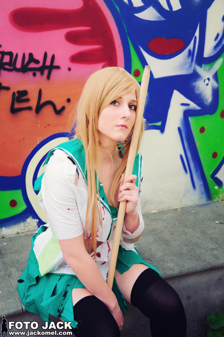Rei Miyamoto III - Highschool of the DEAD by GloomyElls