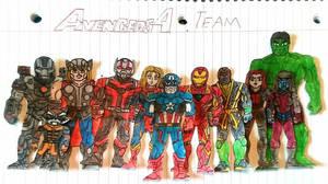 Avengers: Endgame Team