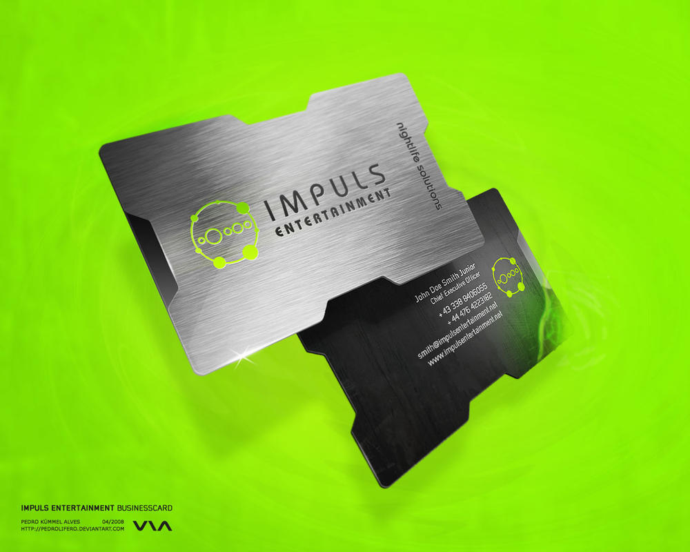 Impuls Business Card by Pedrolifero on DeviantArt