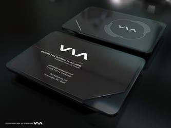 VIA Business Card by Pedrolifero