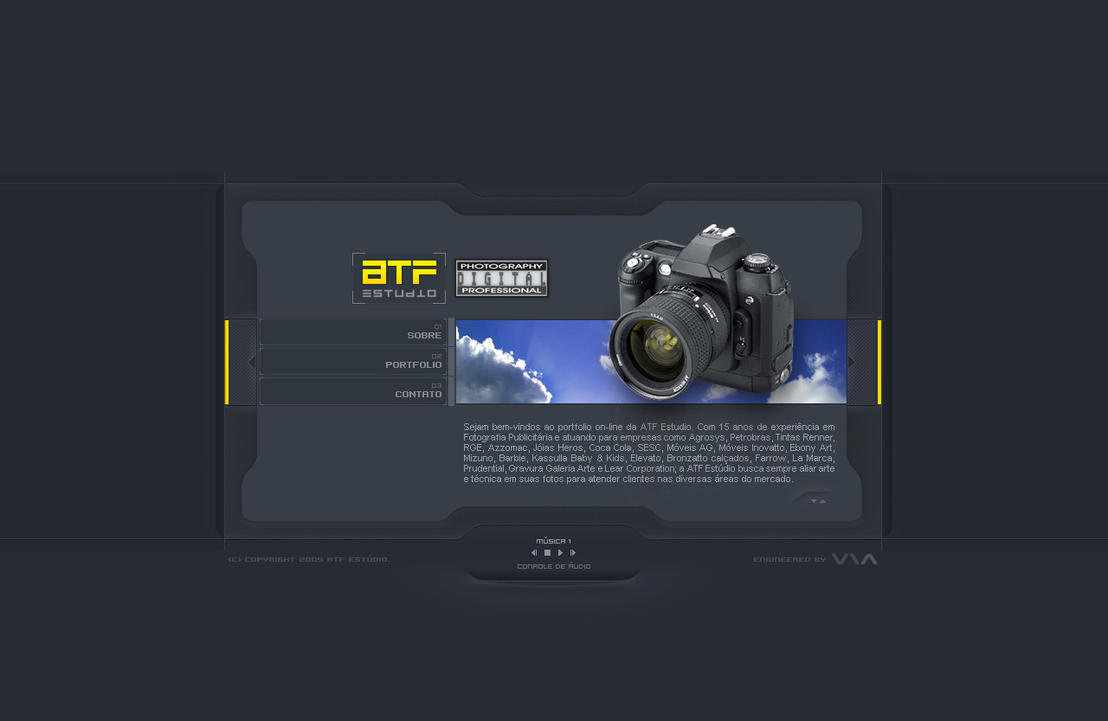 ATF Studio CD Card by Pedrolifero