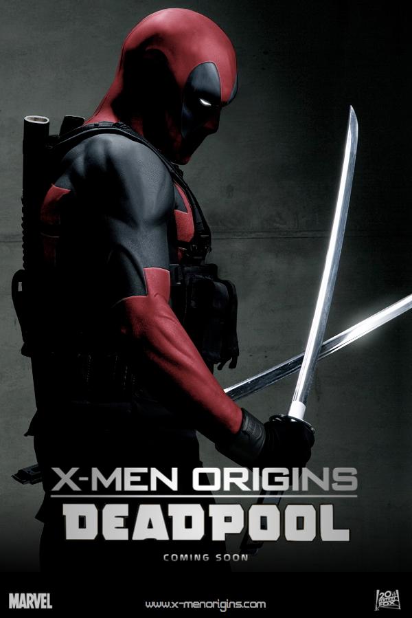 POSTER: X-men Origins: Deadpool / Fan Made #1 by WibblySpidey