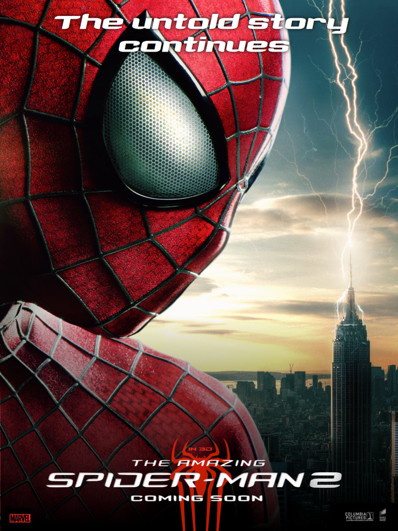 poster the amazing spiderman 2 fan made 5 by