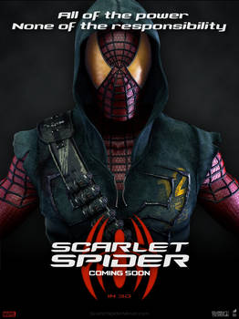 POSTER: Scarlet Spider / Fan Made #1