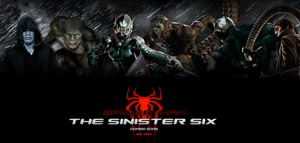 [POSTER] The Sinister Six / Fan Made #1 by WibblySpidey on ...