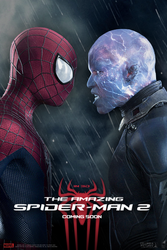 POSTER: The Amazing Spider-man 2 / Fan Made #8 by WibblySpidey