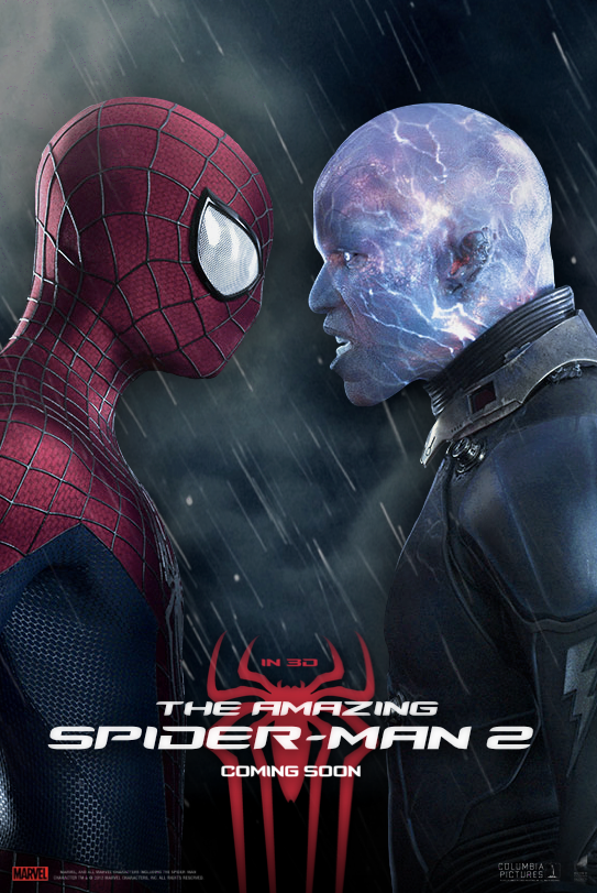 POSTER: The Amazing Spider-man 2 / Fan Made #8 by LunestaVideos