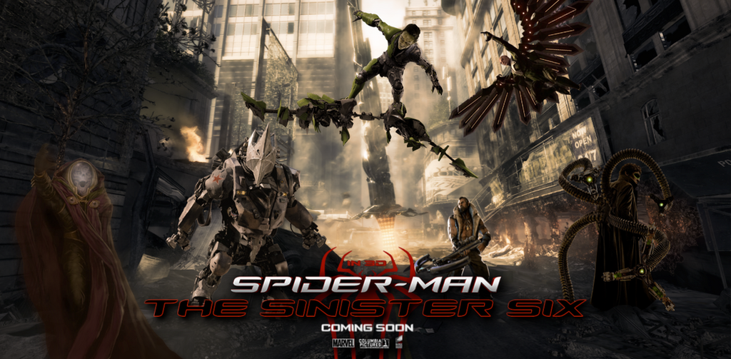 POSTER: The Sinister Six / Fan Made #3 by WibblySpidey on ...