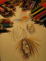 color pencil by Shlyapnick