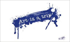 Art ia a trip by Shlyapnick