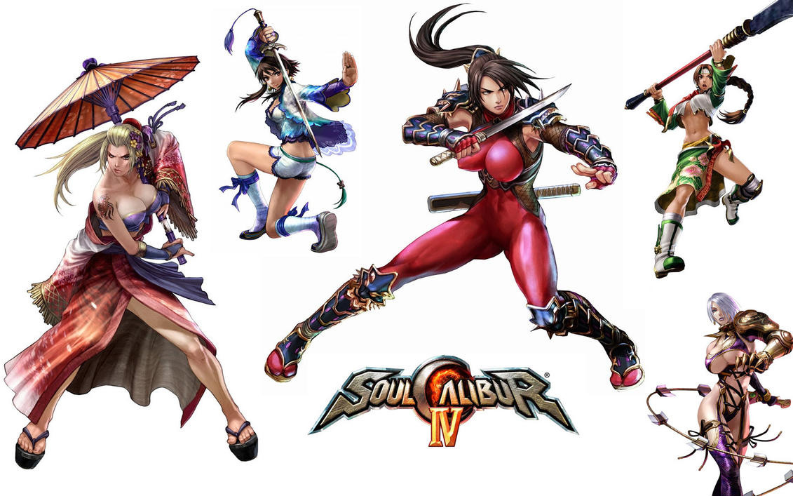 Soul calibur babes 11