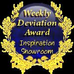 Inspiration-Showroom Weekly Deviation Award by InspiredAdmins