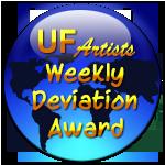 UF-artists Weekly Deviation Award by InspiredAdmins