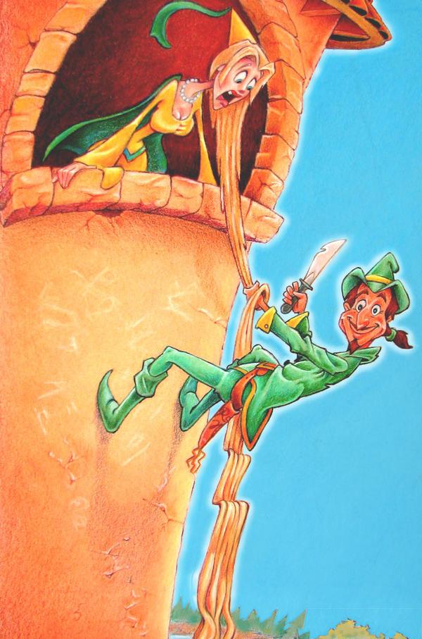 RobinHood Robs Rapunzel by AldoA
