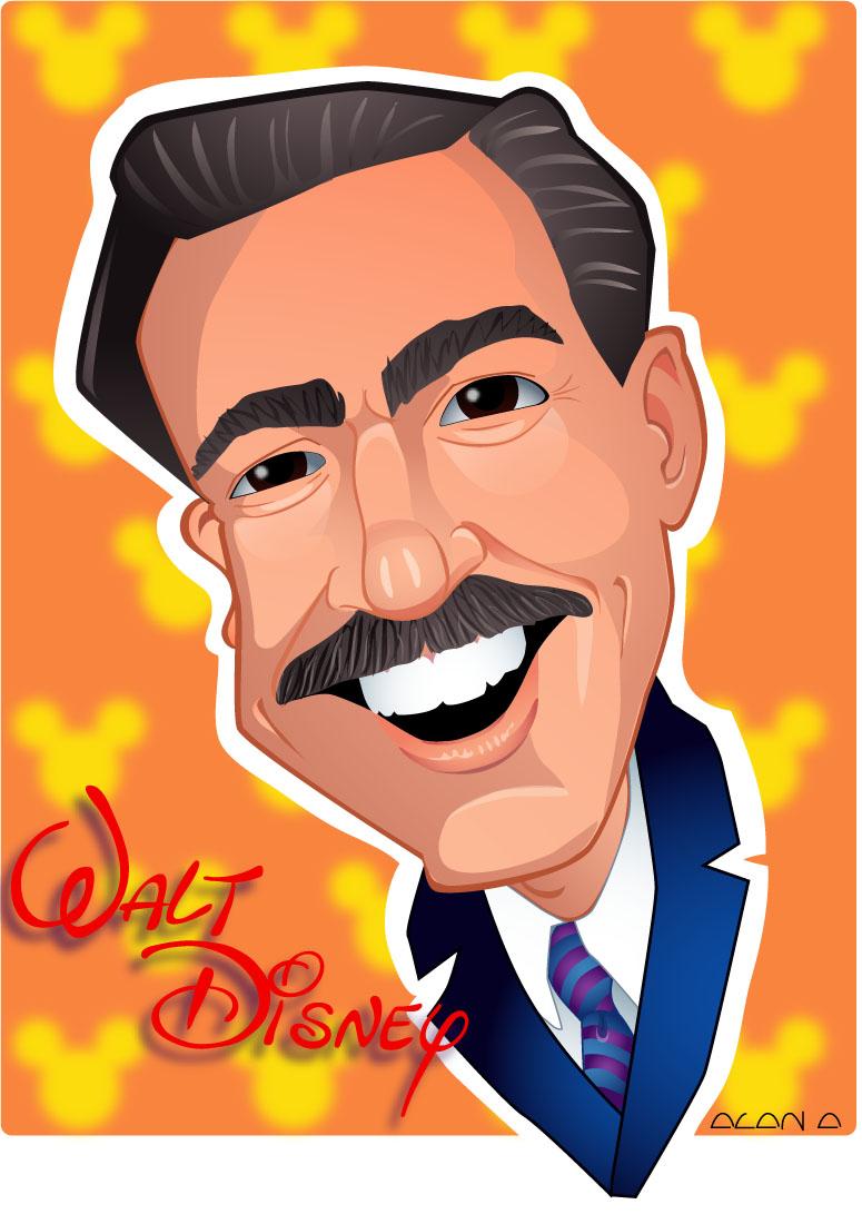 Walter Elias Disney By Aldoa On Deviantart