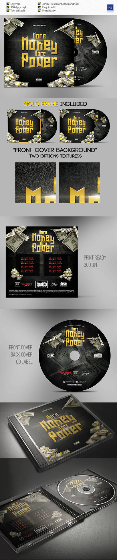 DVD Cover Art More Money More Power