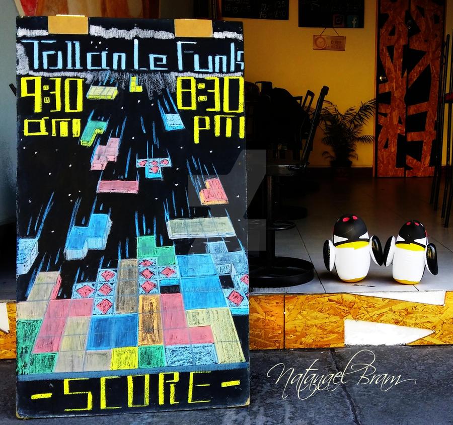 TetrisChalkBoard by NatanaelBram