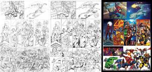 Marvel Heroes 1 Pg1