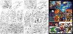Marvel Heroes 1 Pg1 by CarlosGomezArtist