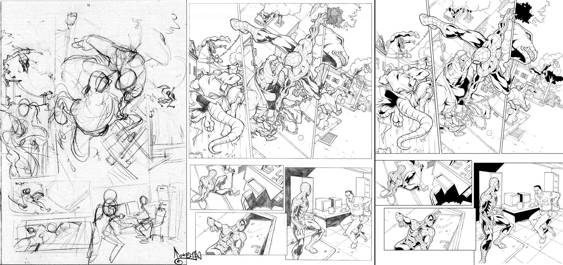 Marvel Heroes 2 Spider-Man p.4 by CarlosGomezArtist