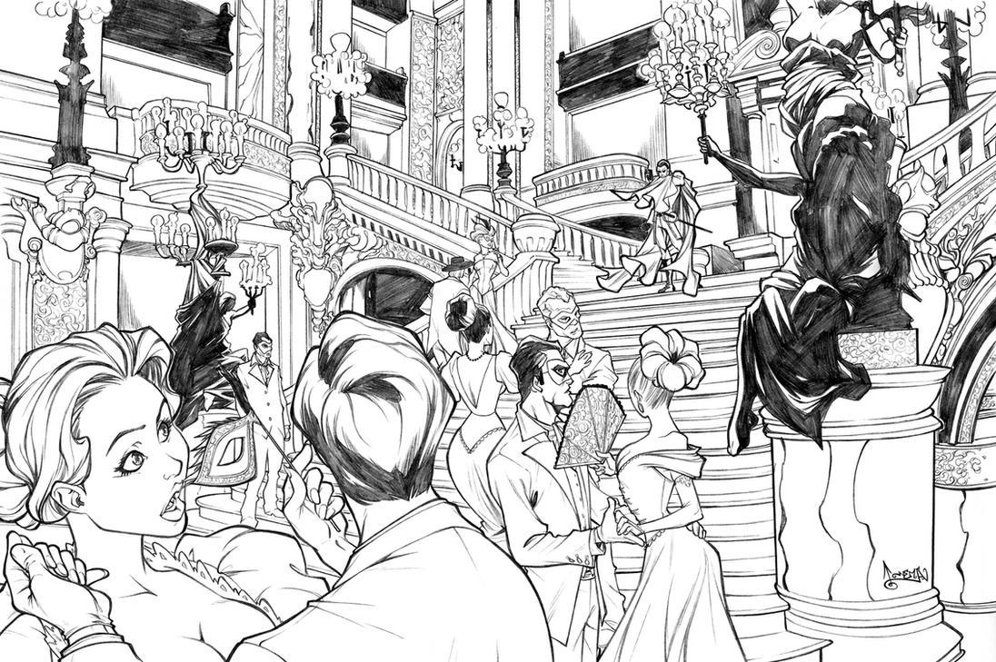 Phantom of the Opera commish by CarlosGomezArtist
