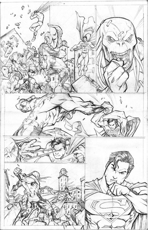 Superman sample 2 by CarlosGomezArtist