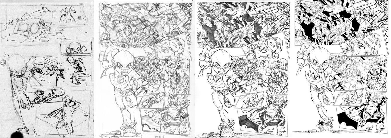 Spectacular Spider-man page by CarlosGomezArtist
