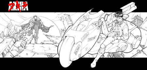 Akira Commission by CarlosGomezArtist