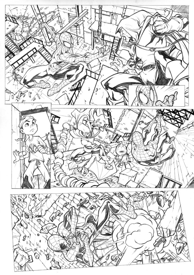 Spectacular Spider-man page 5 by CarlosGomezArtist