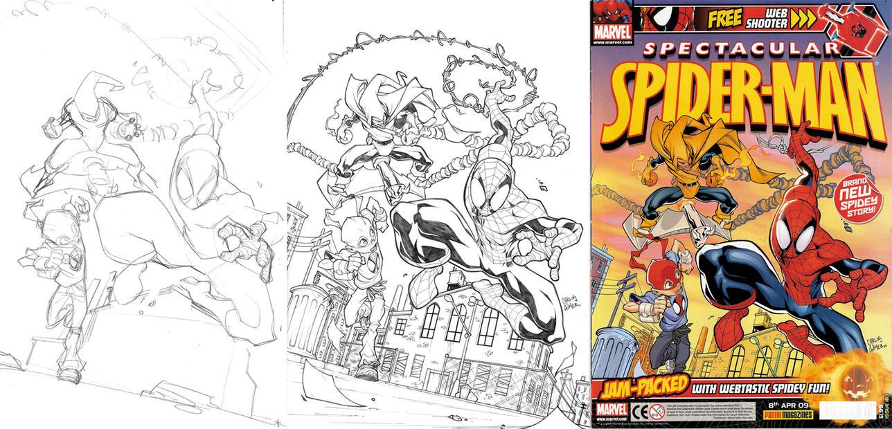 Spec. Spider-man 183 cover by CarlosGomezArtist