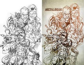 Metal Gear by CarlosGomezArtist