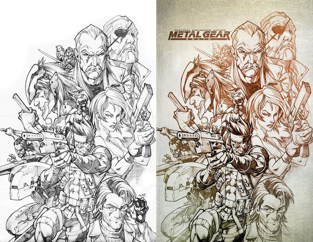 Metal Gear by CarlosGomezArtist